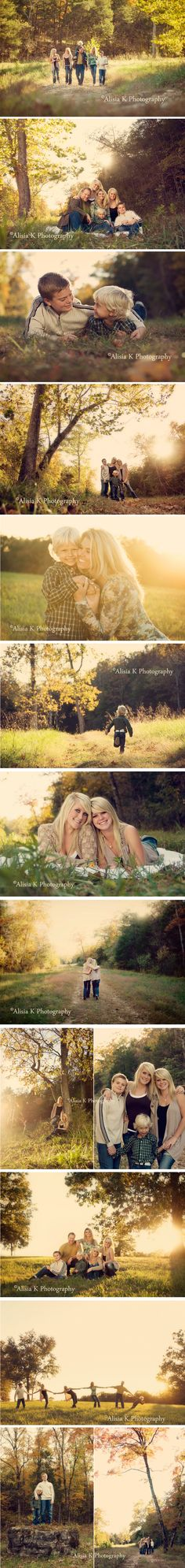 Love this session, family, fall, golden hour