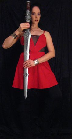Sif Sword with Hidden Dagger  Made to Order by ThePotionsMistress, $95.00