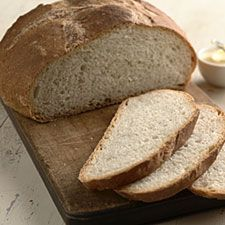 In addition to the sourdough starter in another pin, Br. Ed Luther, C.S.C. recommends this King Arthur Flour recipe for Rustic Sourdough Bread. Can you almost smell it baking?
