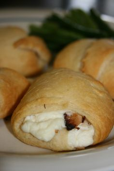 Cream Cheese and Grilled Chicken Crescent Rollups