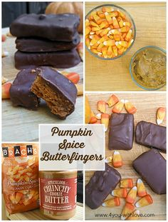 Pumpkin Spice Butterfingers are yummy and so incredibly easy to make!