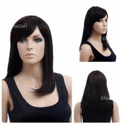 Long Black Wig Straight Wig For Party Wig For Women Lacefront Wig by GOOACTION. $23.99. It's fit for your Parties,Cosplay & Daily Use.. The size is adjustable,it can fit on most people.you can adjust the hooks inside the cap to the correct size to suit your head.. *Package: 1 wig + 1 free wig cap. Easy to care for and Wahs. Wash with normal shampoo in warm but not hot water. Shake off excessive water, wipe with a tower, and dry in air.. 100% Top Quality & Bran... wig