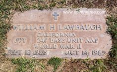 Tombstone Tuesday – William Henry Lawbaugh #genealogy #familyhistory