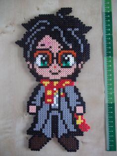 Harry Potter hama perler by beadstoterabithia