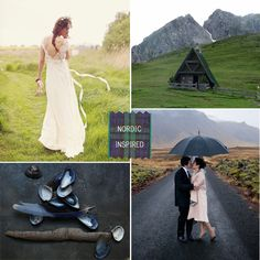 Nordic wedding inspiration