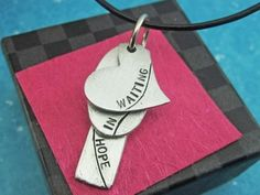 Waiting In Hope Adoption Necklace... because the miracle of adoption is just another way God can create a family!