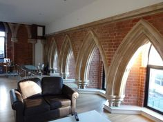 Former church turned appartment in London
