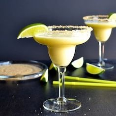 Frozen Pineapple Margarita by tasteloveandnourish- I think I need one of these... now!