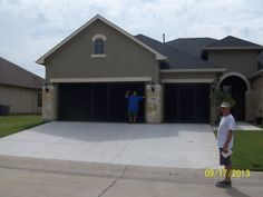 Enjoy your garage with one or two Lifestyle Garage door screens from Cool Screens Texas. coolscreenstexas@hotmail.com