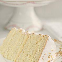 Snow White Vanilla Birthday Cake Recipe - ZipList