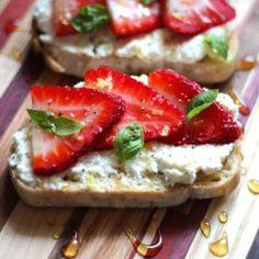 Ricotta Toasts