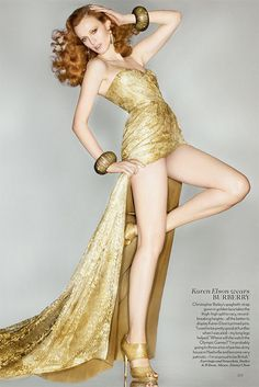 {fashion inspiration   editorial : olympics edition, vogue uk by nick knight} by {this is glamorous}, via Flickr