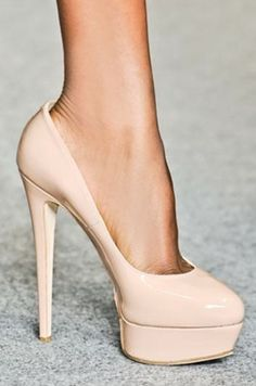 """Victoria"" Classic Nude Pump - Wedding - Sexy Style"
