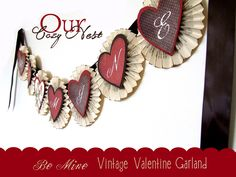 Our Cozy Nest: FREE Valentine Printable / Tutorial