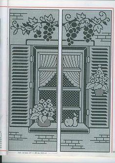 crochet filet on pinterest filet crochet picasa and. Black Bedroom Furniture Sets. Home Design Ideas