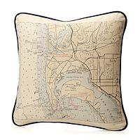 decor, custom map, gift ideas, maps, holiday gifts, anniversary gifts, pillows, map cushion, map pillowuncommongood