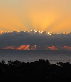 Happy MLK bday - Sunrise via my friend Kim Weiss #sunrises