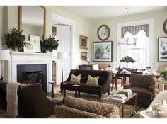 The Garden Home- P. Allen Smith  Color: Benjamin Moore, Nantucket Breeze/521