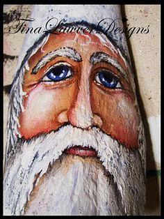 Driftwood Santas