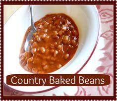 The Better Baker: Country Baked Beans