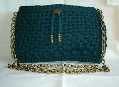 Bolso verde con pto canasto