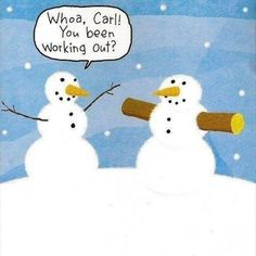 Working out! :) #snow