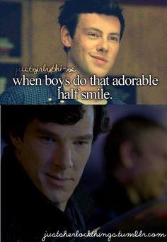 Sherlock and that smirk.