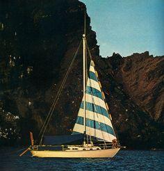 sailboats, vintage, sailing, california, sail boats, sea, sail away, blog, stripes