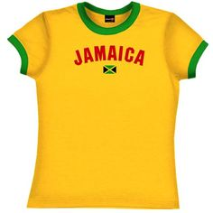 I must find this shirt!  #STYLE Jamaica Girls Soccer T-Shirt
