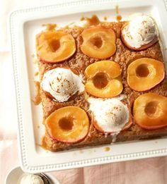 One-bowl recipe. The apple, cinnamon, and vanilla cake.