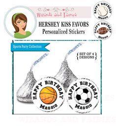Sports Party Favor #sportsparty #sportspartyfavor #basketballparty #soccerparty #footballparty #baseball party #planningsportsparty