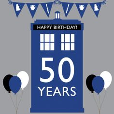 Doctor Who t-shirt for the 50th anniversary <3