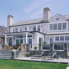 This waterfront home was transformed into a seaside retreat. More before and after exteriors and home additions: http://www.bhg.com/home-improvement/exteriors/curb-appeal/home-additions-renovations/?socsrc=bhgpin061813waterfront=10 Let http://Contractors4you.com Find your contractor fast Use our free service-Also free leads for contractors