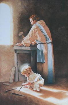 St. Joseph is an example to us of deep courage, immense faith, quiet piety, and committed fatherhood. He is one of deep responsibility and is a living example of the beatitudes