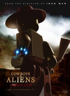 Lego Cowboys & Aliens Poster