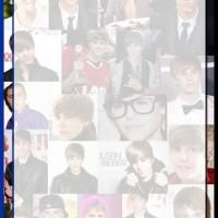 Justin Bieber Collage Stationary
