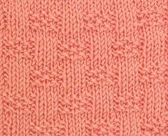 Knitting Stitches - Stitch Craft Create - Projects