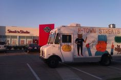 H-town streats - enjoyed shrimp & grits, pulled pork on cornmeal waffles and risotto balls.   yum