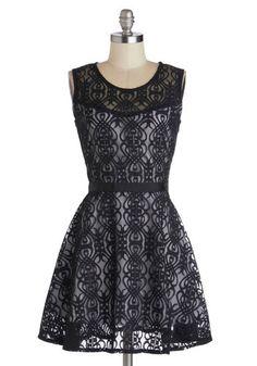 Miss Mystery Dress, @ModCloth