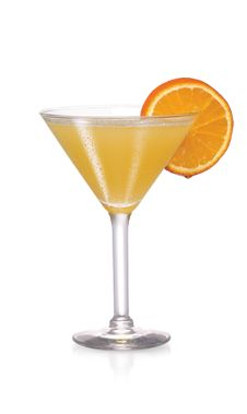 PINNACLE® OCEAN AVENUE 2 PARTS PINNACLE® ORANGE WHIPPED® VODKA 1 PART DEKUYPER® TRIPLE SEC LIQUEUR 1 PART PINEAPPLE JUICE Shake with ice and strain into a chilled martini glass. Garnish with an orange wedge.
