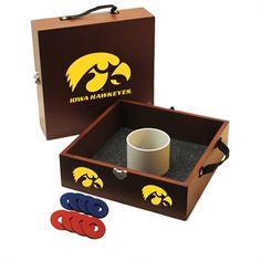 Wild Sports University of Iowa Washer Toss Game