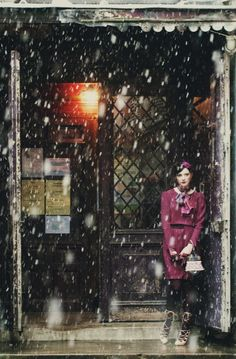 Snow Fall in Paris