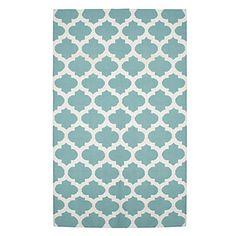 Casablanca Dhurrie Rug - Aquamarine | Area-rugs | Panels-and-rugs | Z Gallerie
