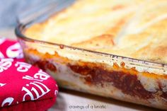 Sloppy Joe Casserole   Cravings of a Lunatic   A simple way to make a quick Sloppy Joe Casserole that will have your family begging for more...