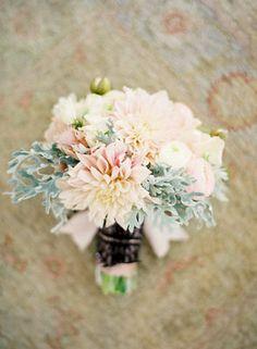 lovely dahlia bouquet