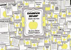 Erica's Ed-Ventures: Putting Together Your Evidence Binder