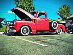 Chevy 3100 Lowrider Bomb Truck