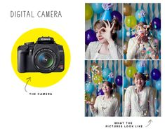 Photographer's Guide to Photobooth Cameras (how to set up your very own party photobooth!)