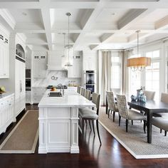 Long narrow kitchen family room on Pinterest | Long Narrow Kitchen, N