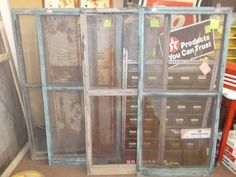 $29 each - These vintage window screen have chippy green paint and screen INTACT. Great for D.I.Y. projects. - buy 1 or 4 or $29 each!  ***** In Booth A2 at Main Street Antique Mall 7260 E Main St (east of Power RD on MAIN STREET) Mesa Az 85207 **** Open 7 days a week 10:00AM-5:30PM **** Call for more information 480 924 1122 **** We Accept cash, debit, VISA, MasterCard or Discover.
